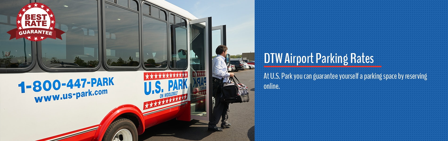 DTW Airport Parking Rates